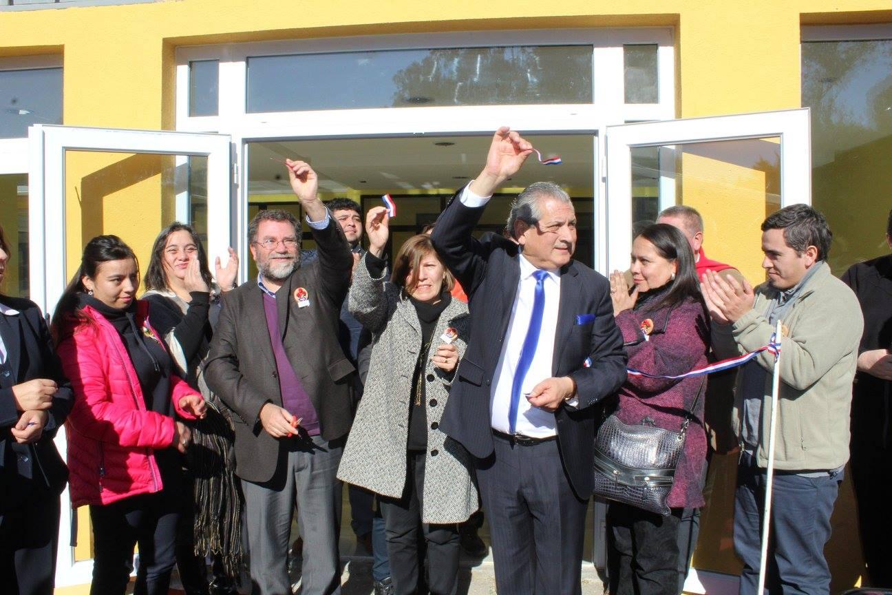 Inauguración Internado Liceo C-53