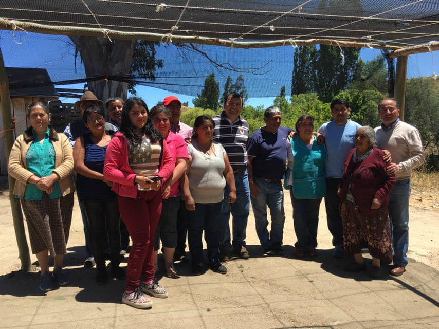 Celebración Comunidad Juana Nahuelpi